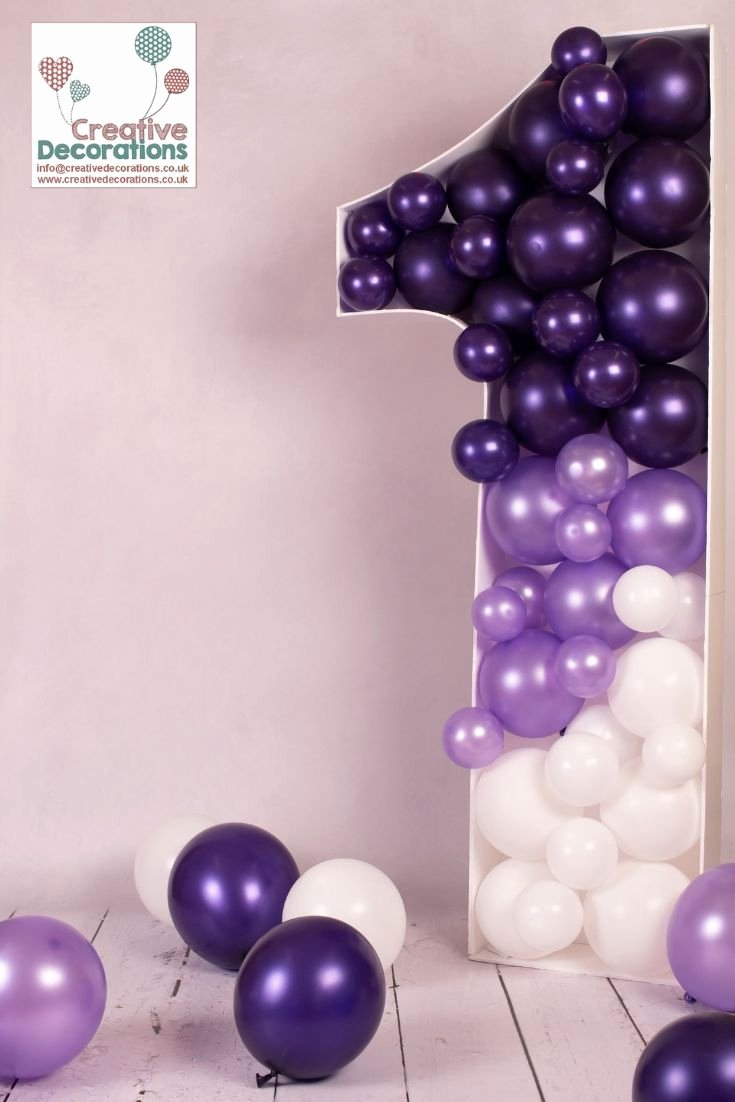 Number 1 Birthday Decoration Ideas Inspirational Childrens Party Balloons Creative Decorations In Luton