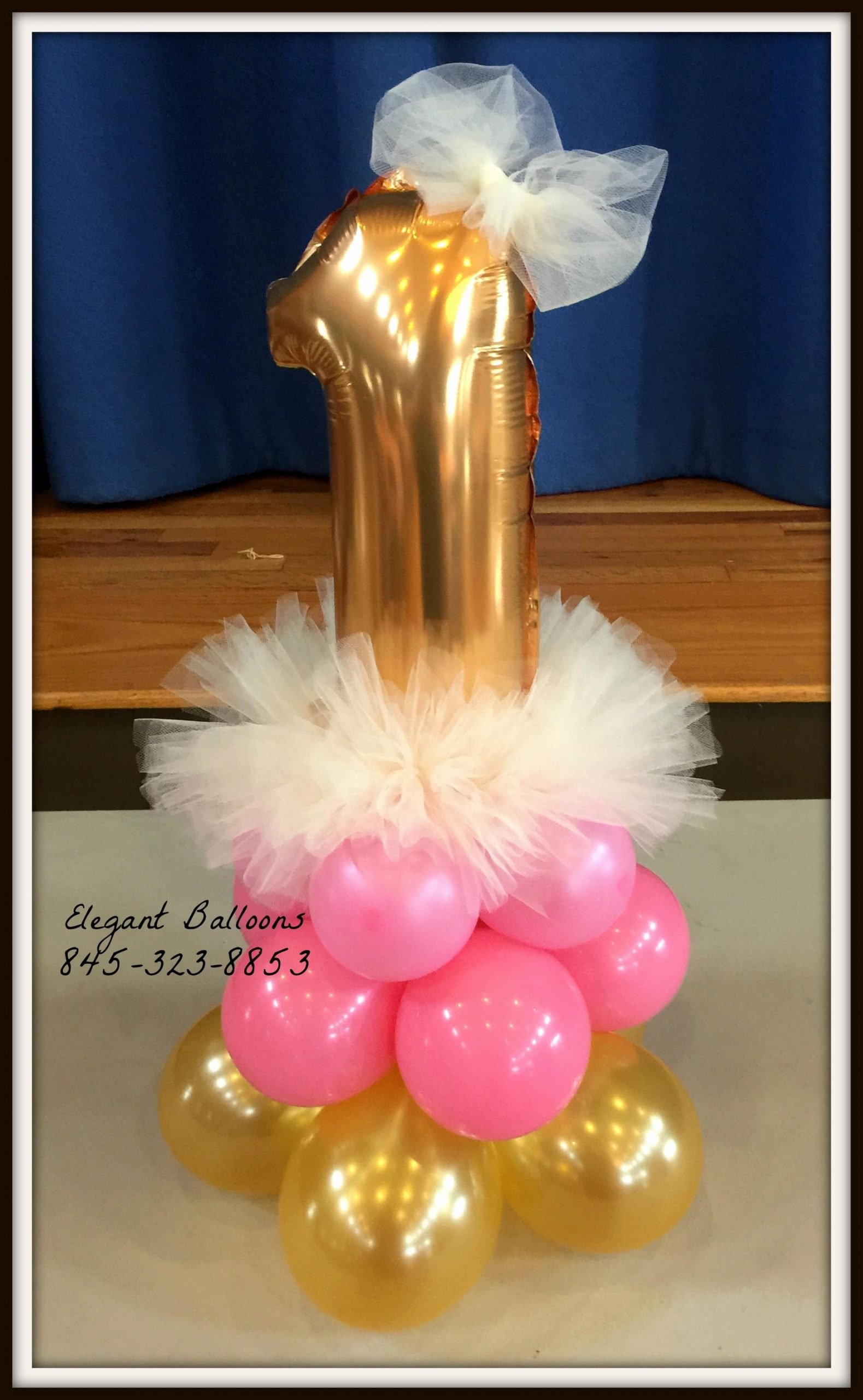 Number 1 Birthday Decoration Ideas Inspirational Number One Tutu Centerpiece Tutucenterpiece