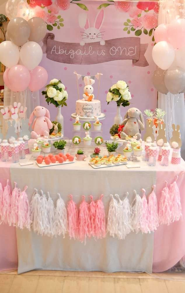 One Year Birthday Decoration Ideas Elegant Pin On Easter