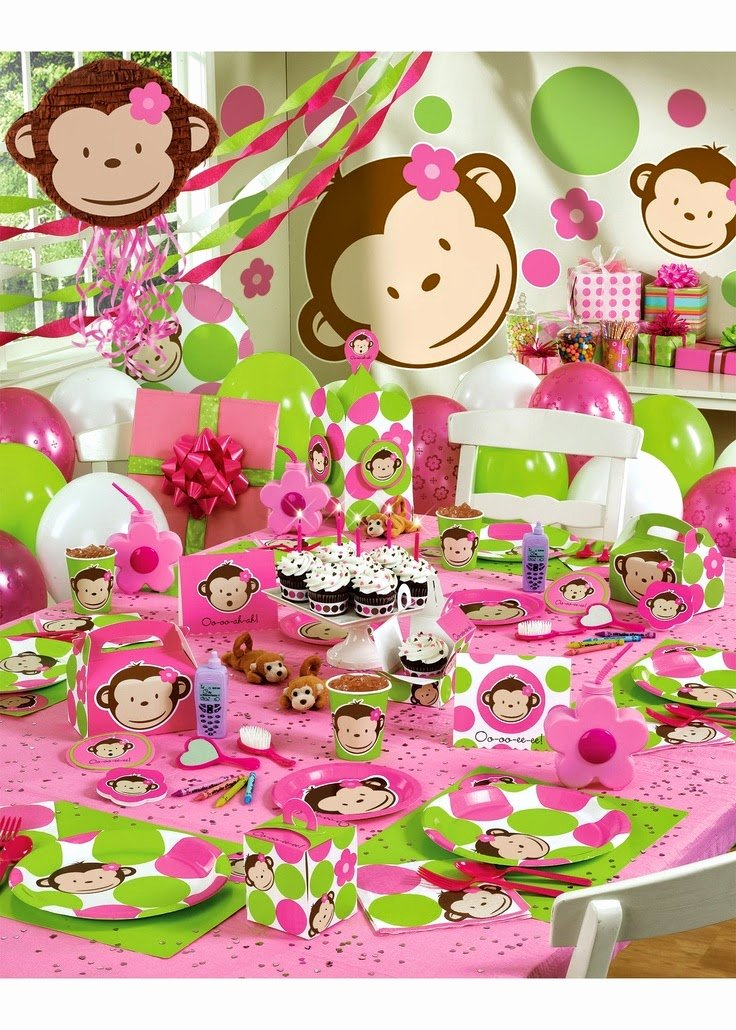 One Year Birthday Decoration Ideas Unique 34 Creative Girl First Birthday Party themes and Ideas My