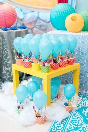 One Year Old Birthday Decoration Ideas Inspirational Up Up and Away This One Year Old Had the Time Of His Life