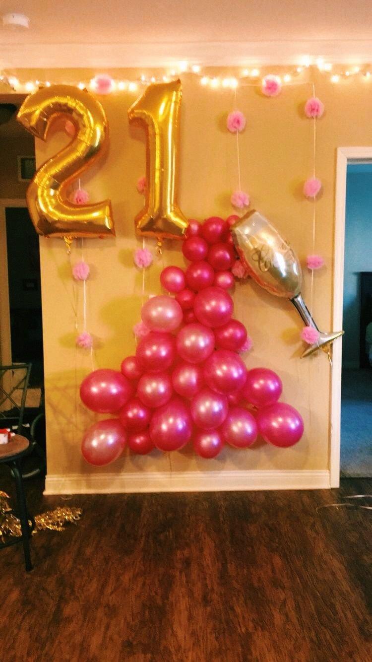 Pinterest 21st Birthday Decoration Ideas Luxury Pin by Lana On Must Be 21