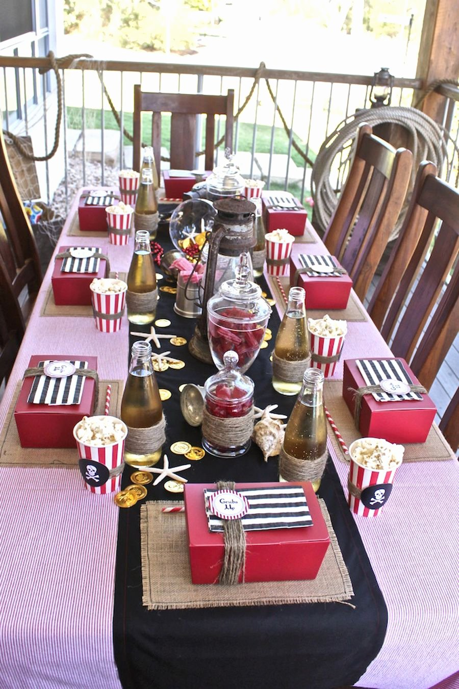 Pirate Birthday Decoration Ideas Awesome Pin by Leslie Bullock On Party Planning