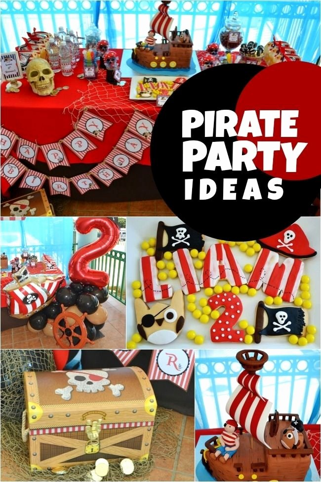 Pirate Birthday Decoration Ideas Fresh Sweet Pirate Owl Birthday Party