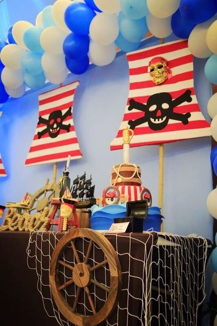 Pirate Birthday Decoration Ideas Luxury Pin On Pirate Party Ideas