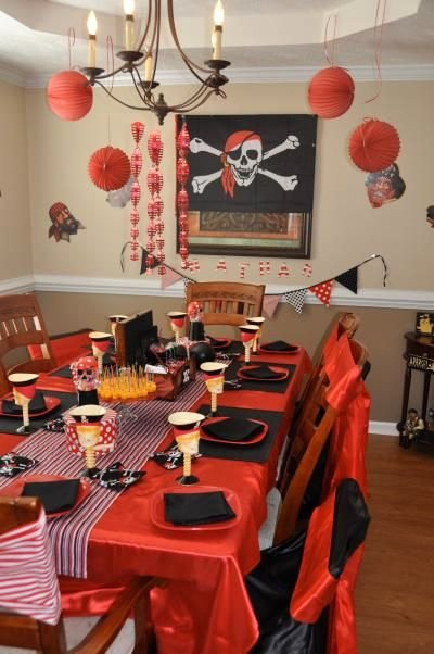Pirate Birthday Decoration Ideas New Pirates This is My Favorite theme for A Little Boy there