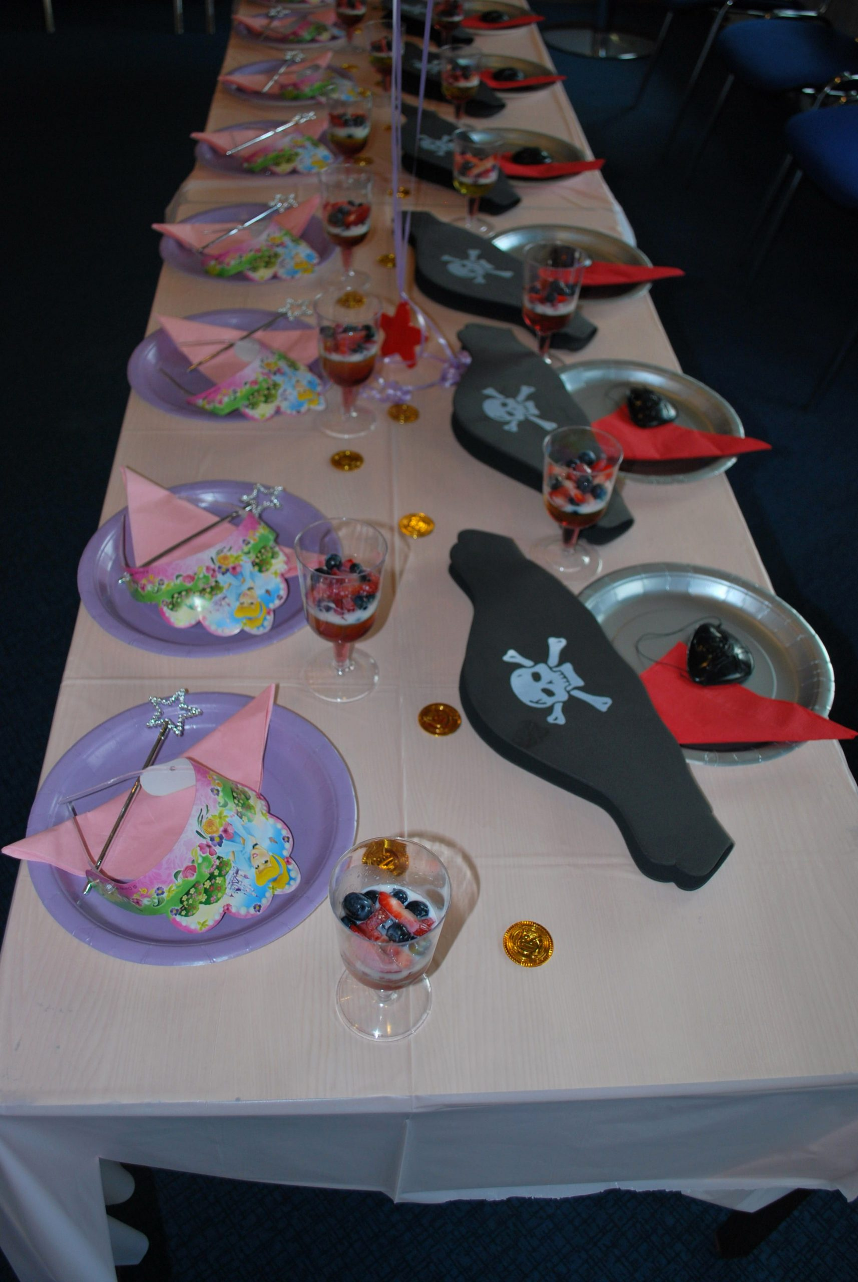 Pirate Birthday Decoration Ideas New Princess & Pirates Party Decoration Ideas From