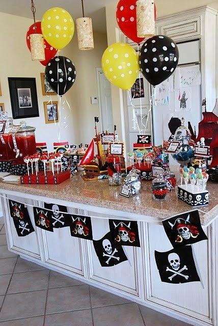 Pirate Birthday Decoration Ideas Unique Food Ideas Pirate theme Party Idea for island