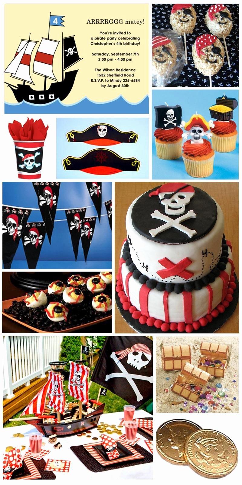 Pirate Birthday Decoration Ideas Unique Piratenparty