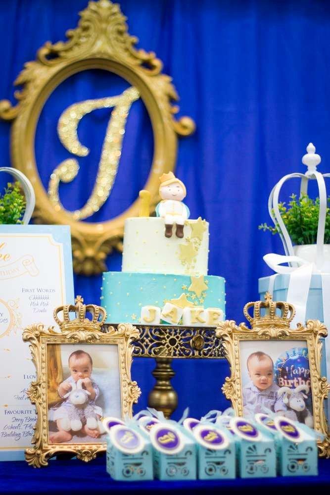 Prince Birthday Decoration Ideas Inspirational Royal Prince Birthday Party Ideas 4 Of 8