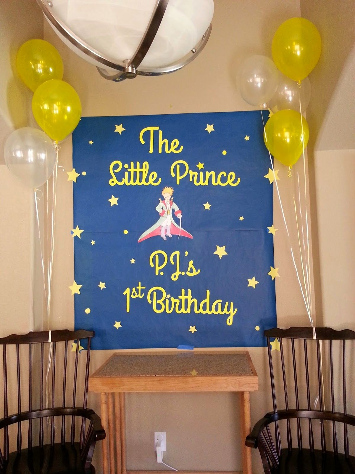 Prince Birthday Decoration Ideas New Petit Prince Little Prince Party Idea