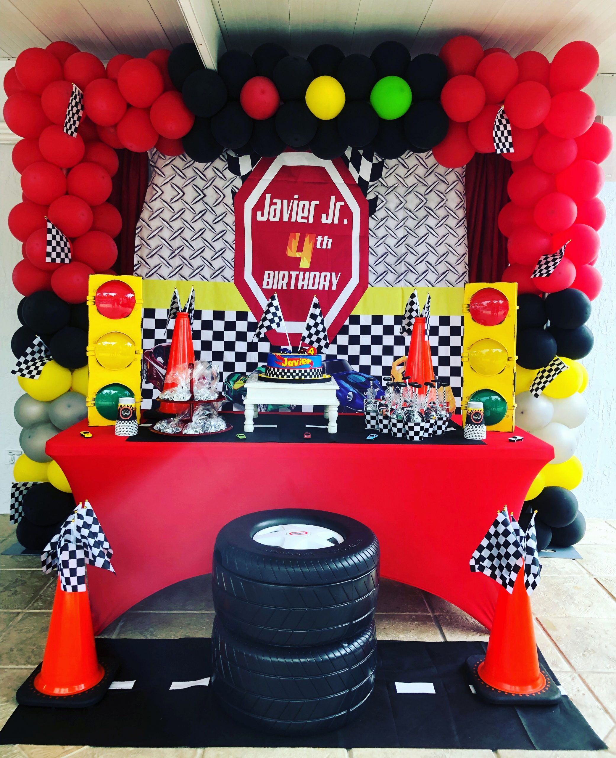 Race Car Birthday Decoration Ideas Awesome Race Car Party