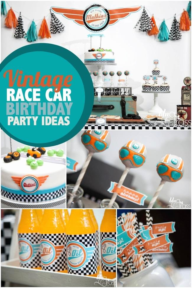 Race Car Birthday Decoration Ideas Beautiful 39 Race Car Birthday Party Ideas Spaceships and Laser Beams