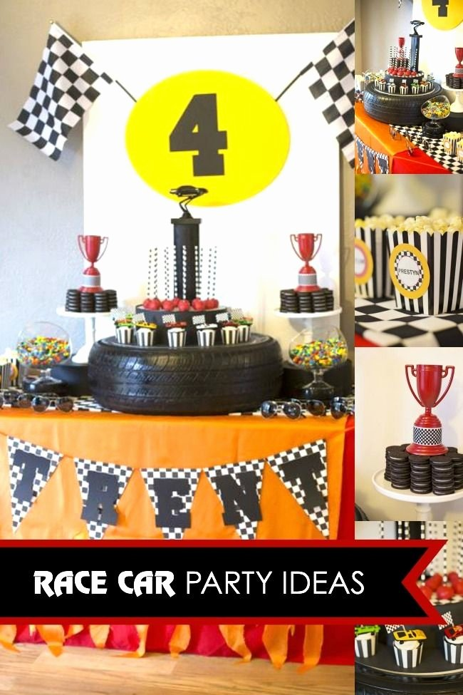 Race Car Birthday Decoration Ideas Beautiful Race Car Party Ideas