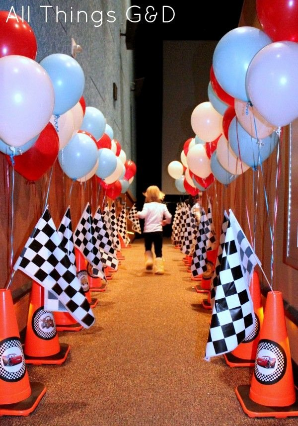 Race Car Birthday Decoration Ideas Best Of the Making Of Kate S Cars Birthday Party