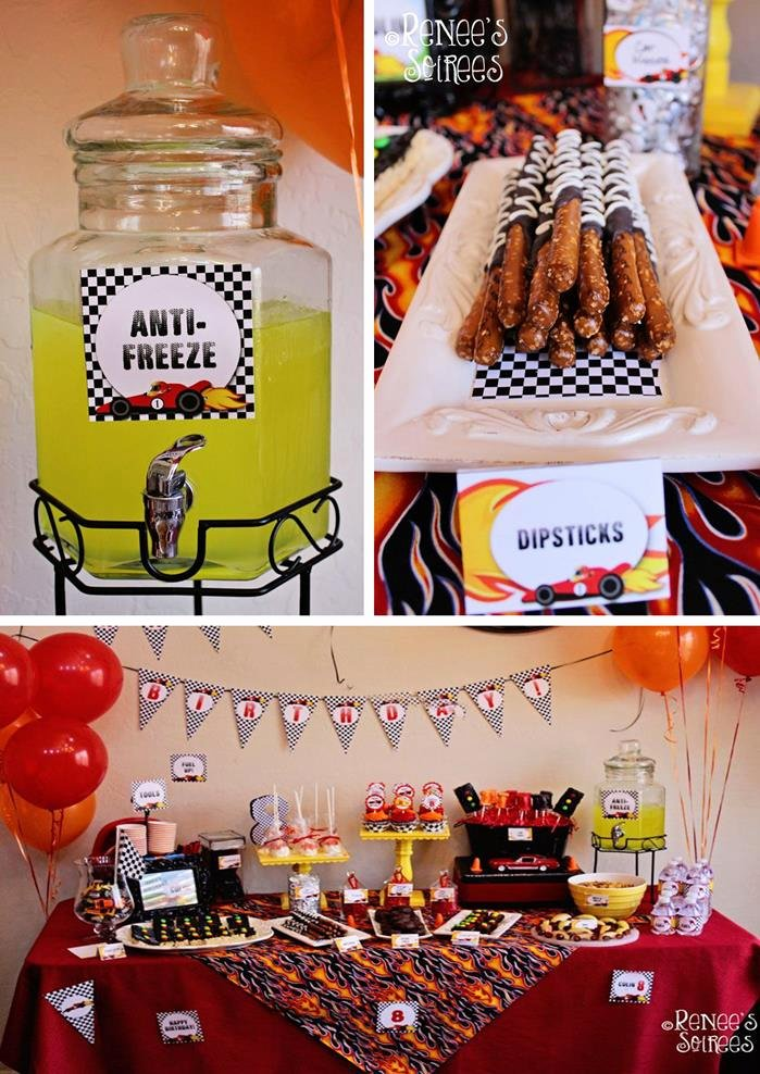 Race Car Birthday Decoration Ideas Elegant Kara S Party Ideas Race Car Birthday Party Planning Ideas