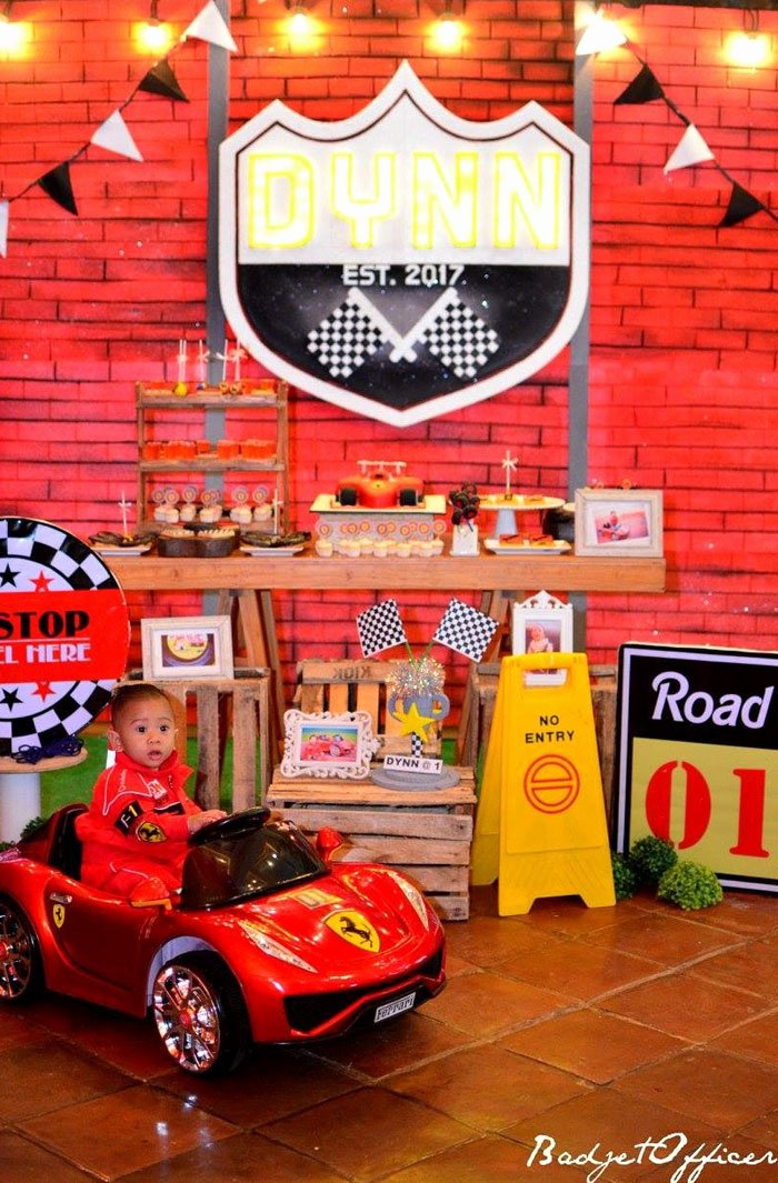 Race Car Birthday Decoration Ideas Fresh Kara S Party Ideas Red Race Car Birthday Party