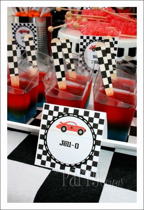Race Car Birthday Decoration Ideas Unique Racing Car Birthday Party theme Ideas