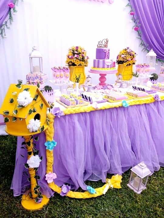 Rapunzel Birthday Decoration Ideas Luxury Rapunzelparty Rapunzelbirthday Rapunzelpartyideas