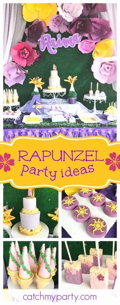Rapunzel Birthday Decoration Ideas New 200 Best Rapunzel Tangled Party Ideas Images In 2020