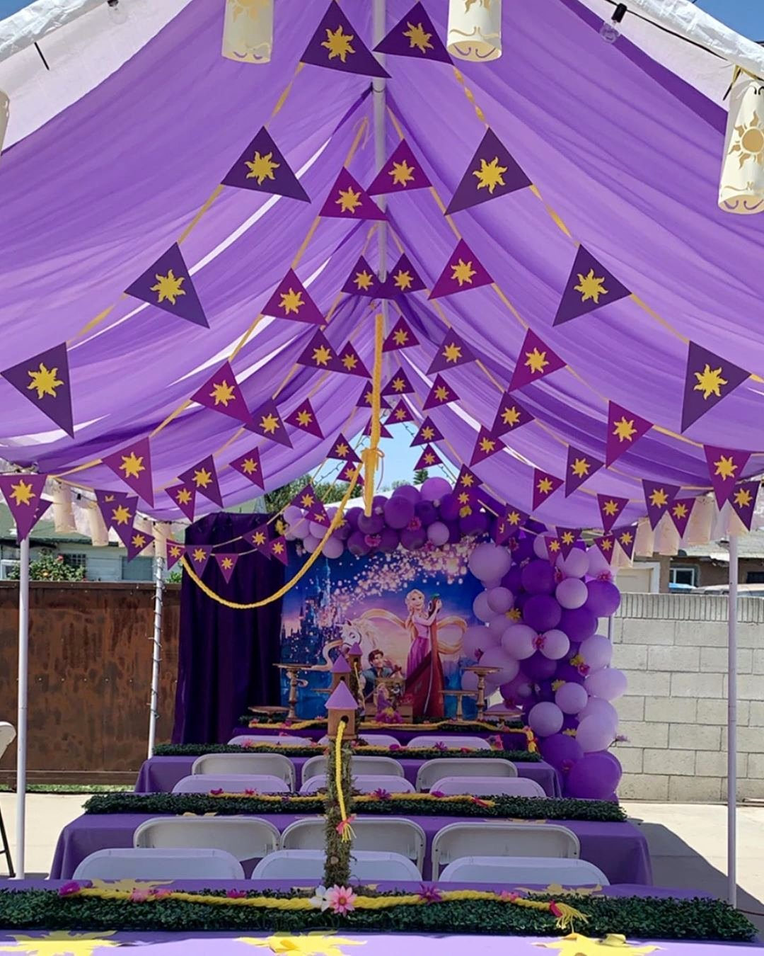 Rapunzel Birthday Decoration Ideas Unique Tangled theme Party Diy Party Contact Me for Your Next event