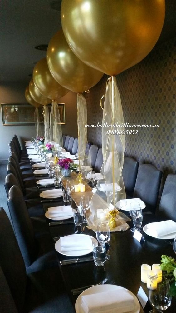 Restaurant Birthday Decoration Ideas Best Of Superb Set Up at the Ottoman Restaurant Giantballoons