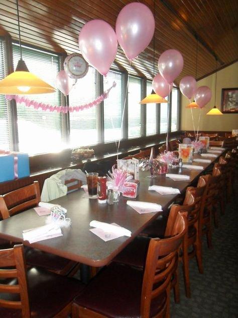 Restaurant Birthday Decoration Ideas Fresh Baby Shower at A Restaurant