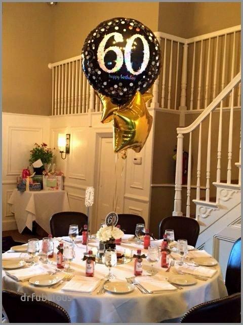 Restaurant Birthday Decoration Ideas New 30 Fresh 60th Birthday Party Table Decorations Ideas