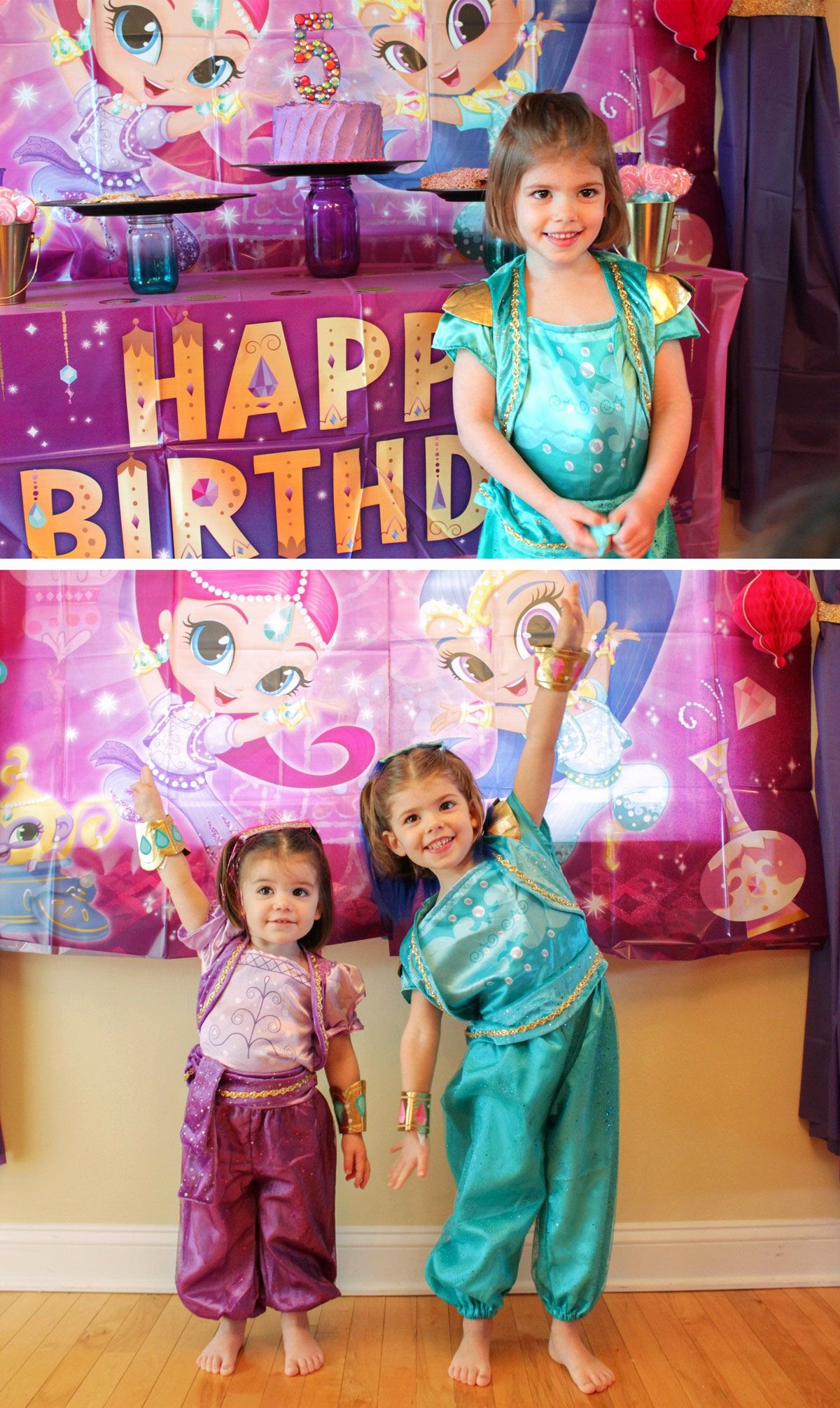Shimmer and Shine Birthday Decoration Ideas Best Of Shimmer and Shine Party Ideas
