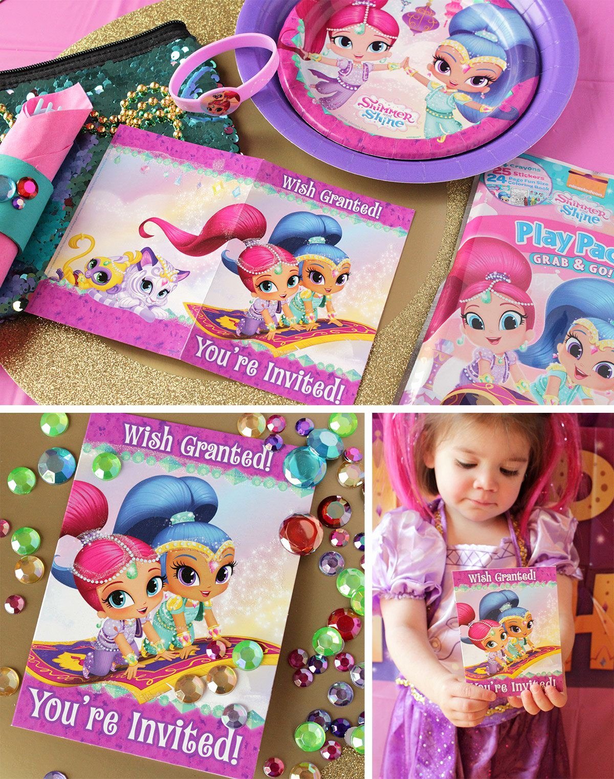 Shimmer and Shine Birthday Decoration Ideas Fresh Shimmer and Shine Party Ideas