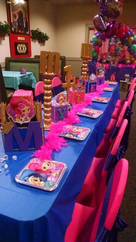 Shimmer and Shine Birthday Decoration Ideas Lovely Shimmer and Shine Birthday Party Ideas