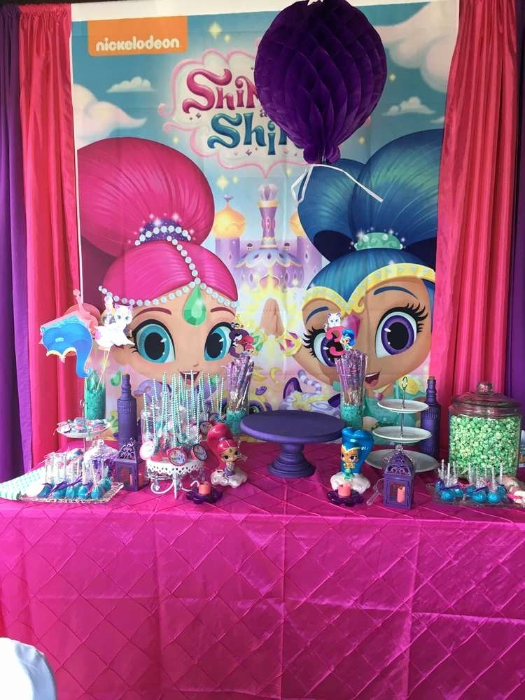 Shimmer and Shine Birthday Decoration Ideas Luxury Shimmer and Shine Birthday Party Ideas