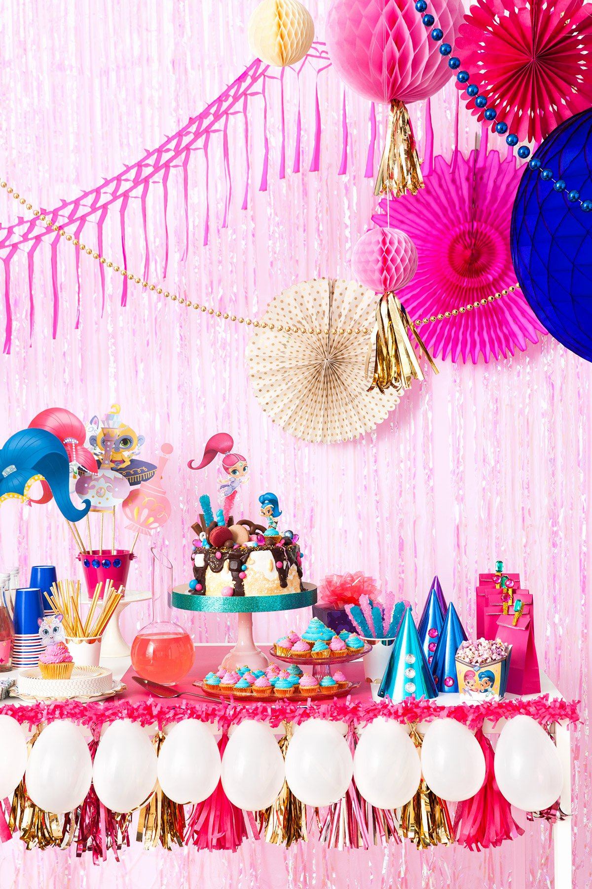 Shimmer and Shine Birthday Decoration Ideas New Plan A Shimmer and Shine Birthday Party