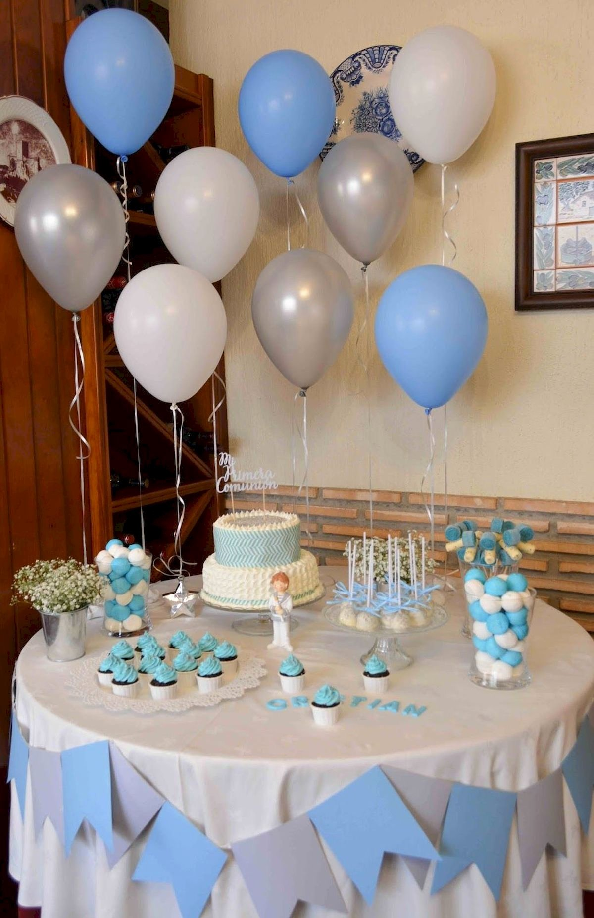 Simple Birthday Decoration Ideas at Home for Boy Luxury Decoration Birthday Party Ideas