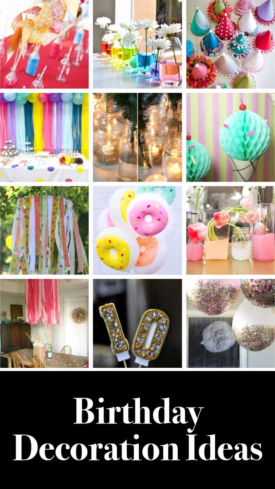 Simple Birthday Decoration Ideas at Home for Mom Elegant 12 Easy Diy Birthday Decoration Ideas 2020