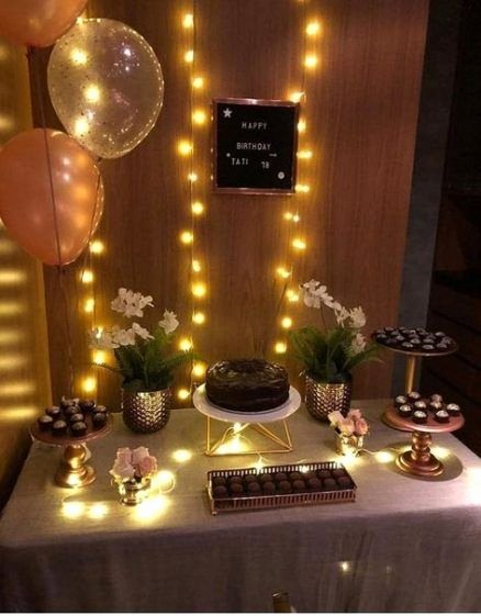 Simple Birthday Decoration Ideas for Adults New Birthday Party Decorations for Adults Women Simple Harry