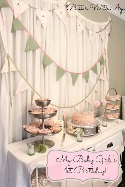 Simple but Elegant Birthday Decoration Ideas Unique Adorable 1st Birthday Party From Better with