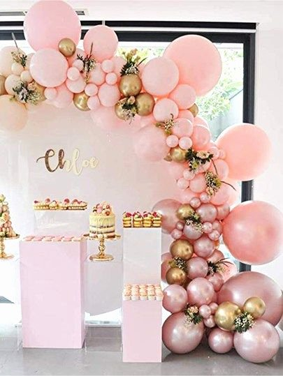 Sister Birthday Decoration Ideas Awesome Decorative Balloon Set 117pcs