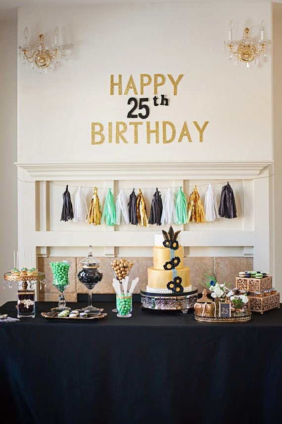 Sister Birthday Decoration Ideas Awesome Great Gatsby Roaring Mid 20′s Birthday Party