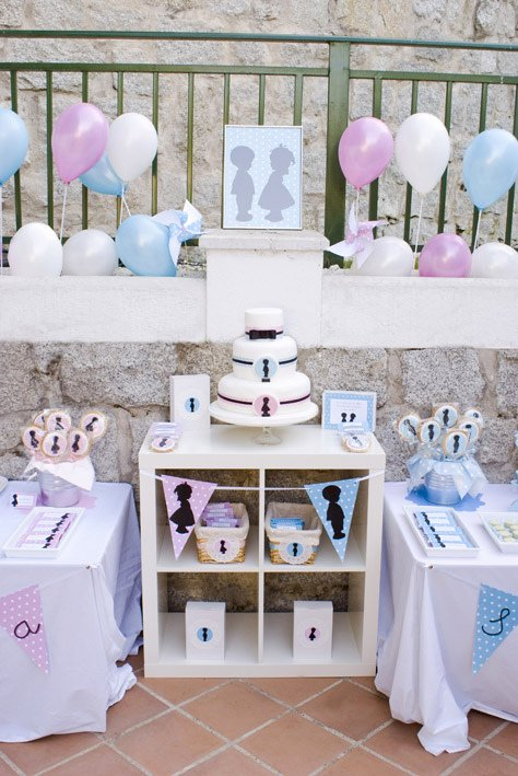 Sister Birthday Decoration Ideas Awesome Kara S Party Ideas Silhouette Sister & Brother Birthday