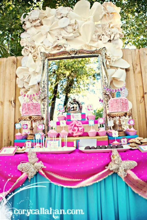 Sister Birthday Decoration Ideas Lovely Fairy themed Sisters Birthday Party