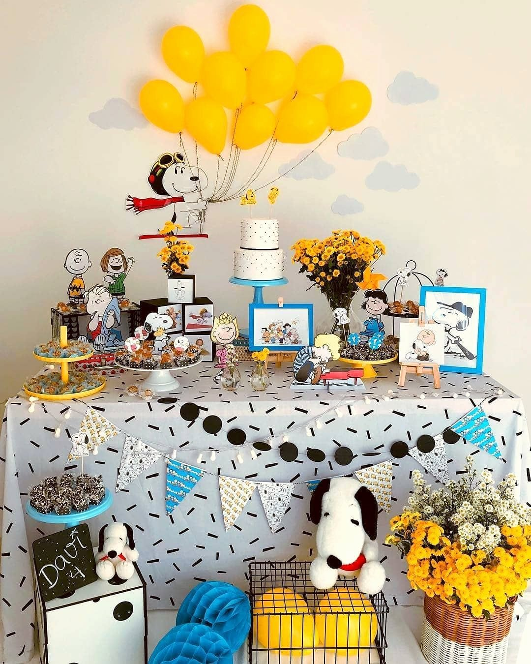 Snoopy Birthday Decoration Ideas Awesome Children S Party Design Ideas and Inspiration