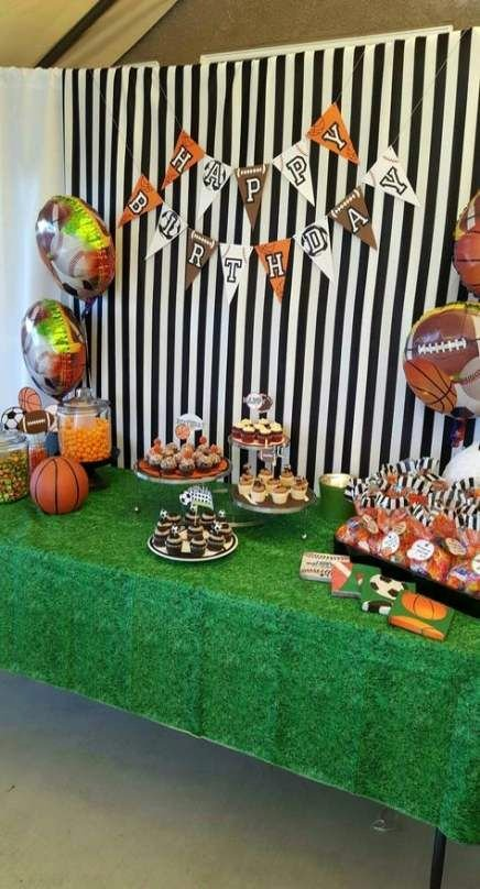 Sports Birthday Decoration Ideas New 36 Ideas Sport Day theme Birthday Parties