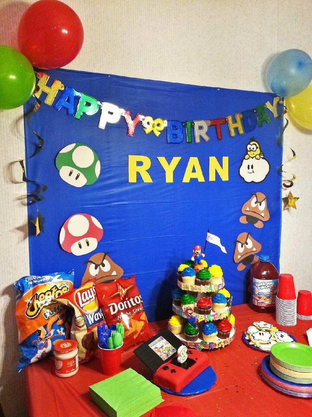 Super Mario Birthday Decoration Ideas Awesome Mario Birthday Party Ideas