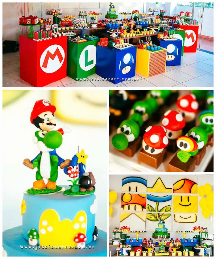 Super Mario Birthday Decoration Ideas Fresh Kara S Party Ideas Super Mario Birthday Party