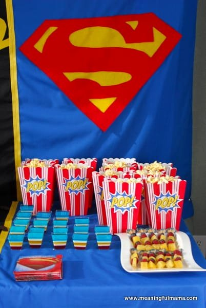 Superhero Birthday Decoration Ideas Awesome Superhero Party Food Ideas