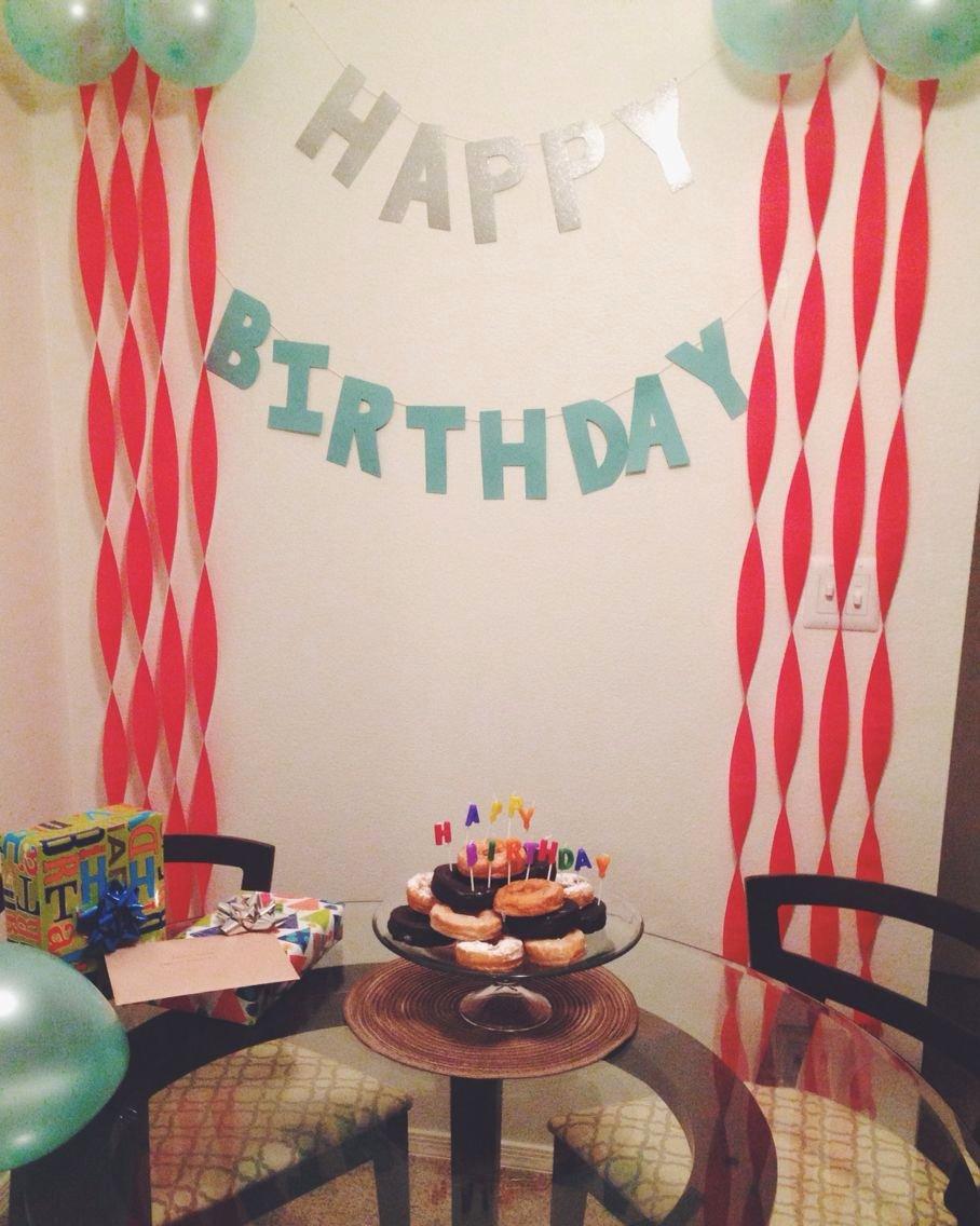 Surprise Birthday Decoration Ideas for Husband Luxury Surprise Birthday Decorations for My Husband