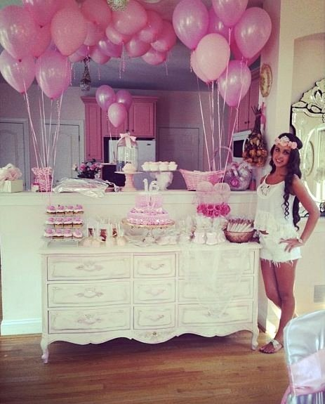 Sweet Sixteen Birthday Decoration Ideas Beautiful Miss Desiree S Sweet 16