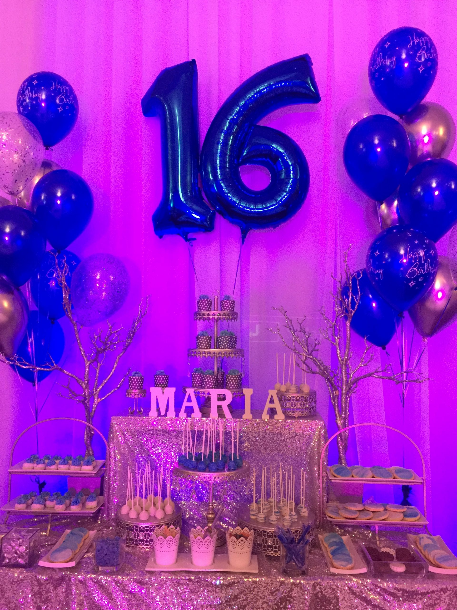 Sweet Sixteen Birthday Decoration Ideas Best Of Sweet Sixteen Birthday Party Candy Bar