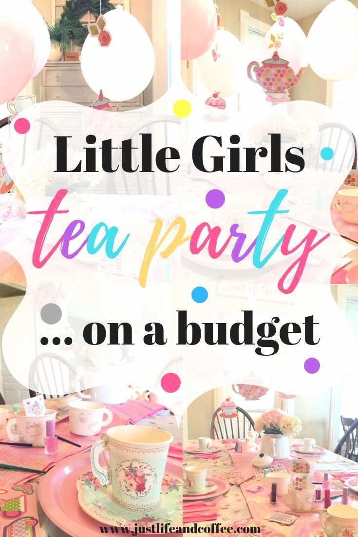 Tea Party Birthday Decoration Ideas Luxury Little Girls Tea Party Birthday theme A Bud